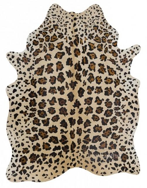Jaguar on Beige