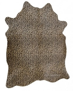 Leopard on Beige