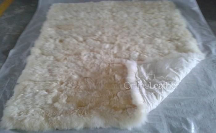Patchwork Sheepkin Rug