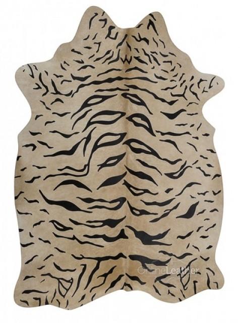 Tiger on Beige