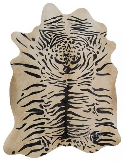 Java Tiger on Beige