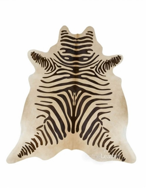 Chocolate Zebra on Beige